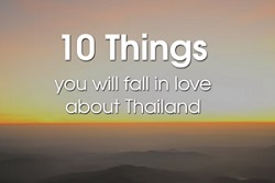 10 things about thailand